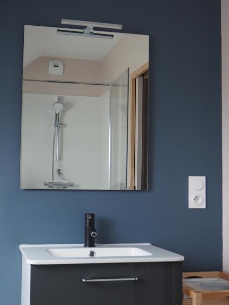 salle d'eau privative