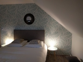 un lit pour deux